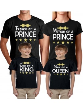 Family of The Prince Birthday Boy