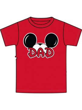 DAD Disney Family Adult  T-shirts